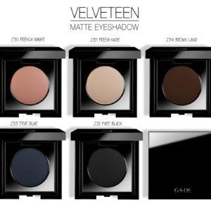 Тени Для Век Одинарные «Velveteen Matte» — «Velveteen Matte Eye Shadow