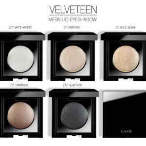 Тени Для Век Одинарные «Velveteen Metallic» — «Velveteen Metallic Eye Shadow»