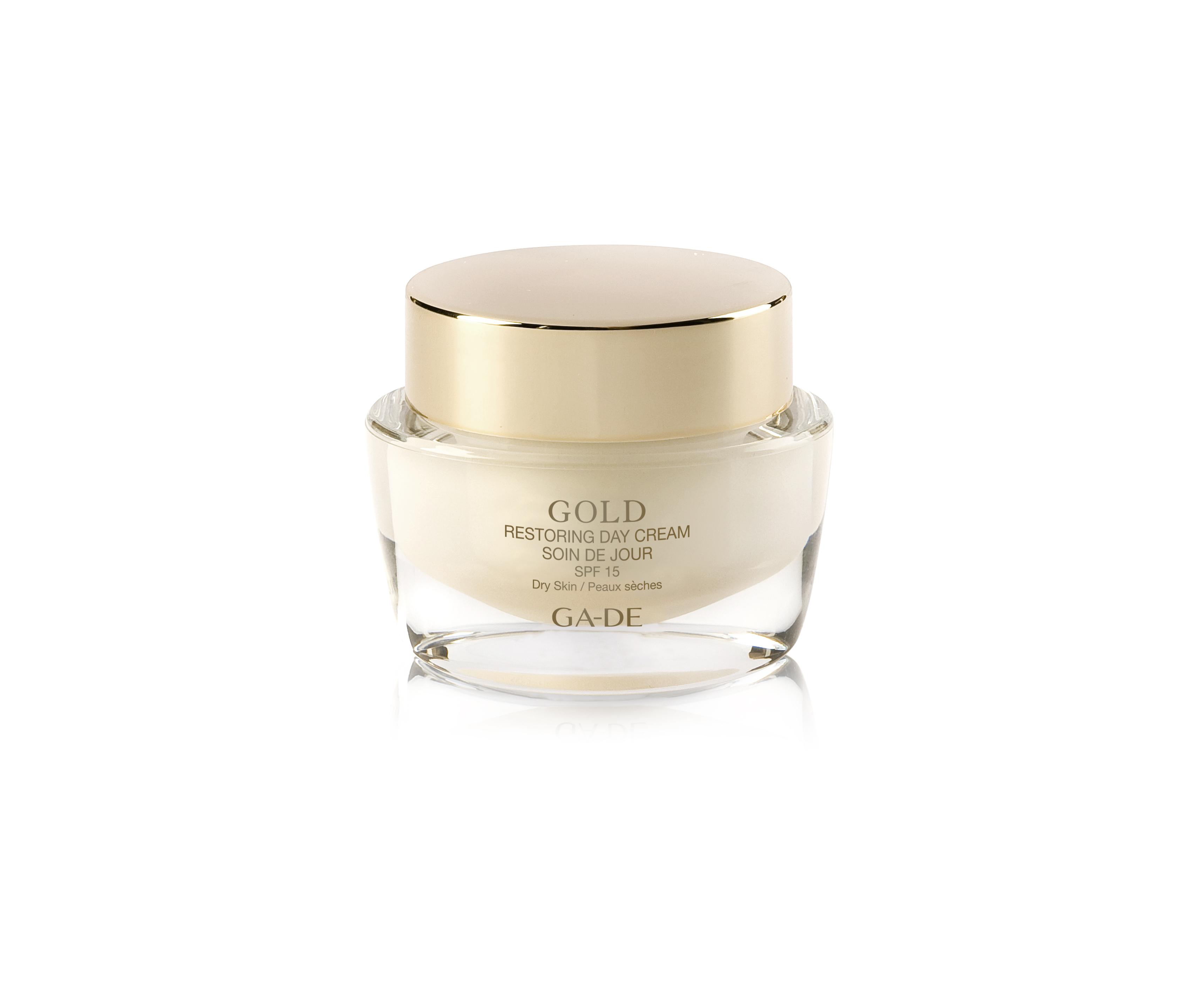 Восстанавливающий дневной крем - Gold Restoring Day Cream SPF 15