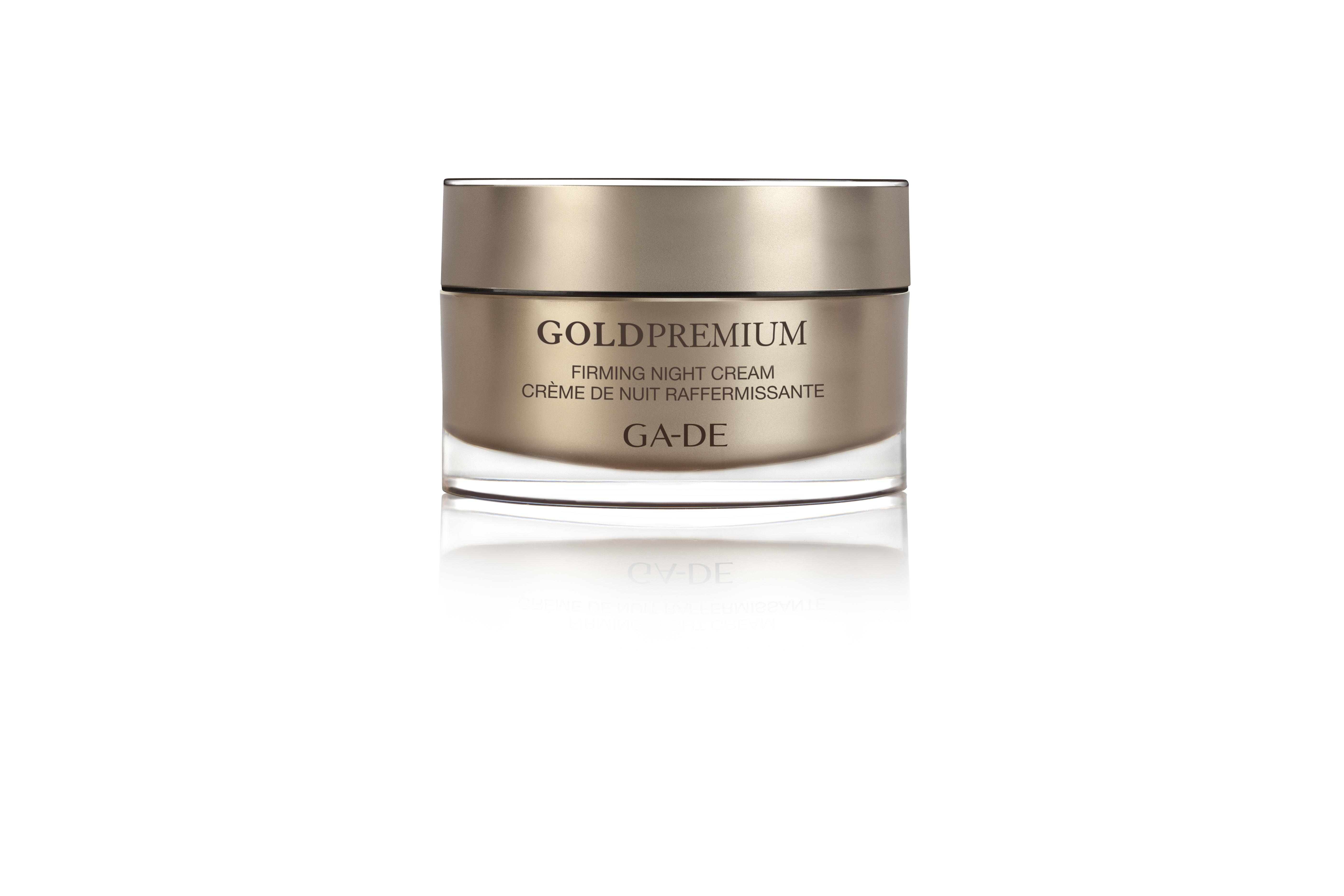 """Укрепляющий ночной крем - """"Gold Premium"""""""