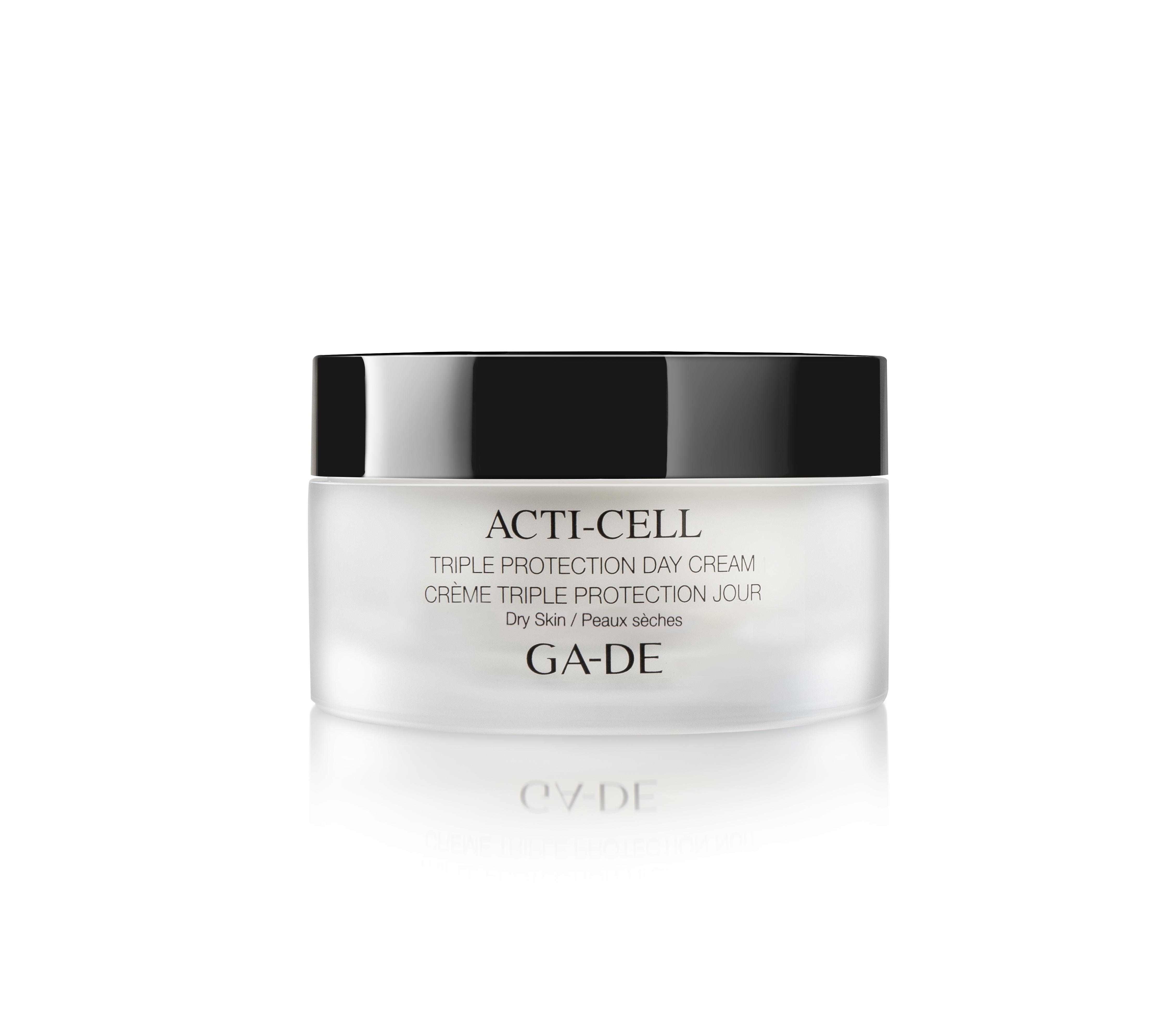 """Дневной крем для сухой кожи тройная защита - """"Acti-Cell"""" Triple Protection Day Cream"""