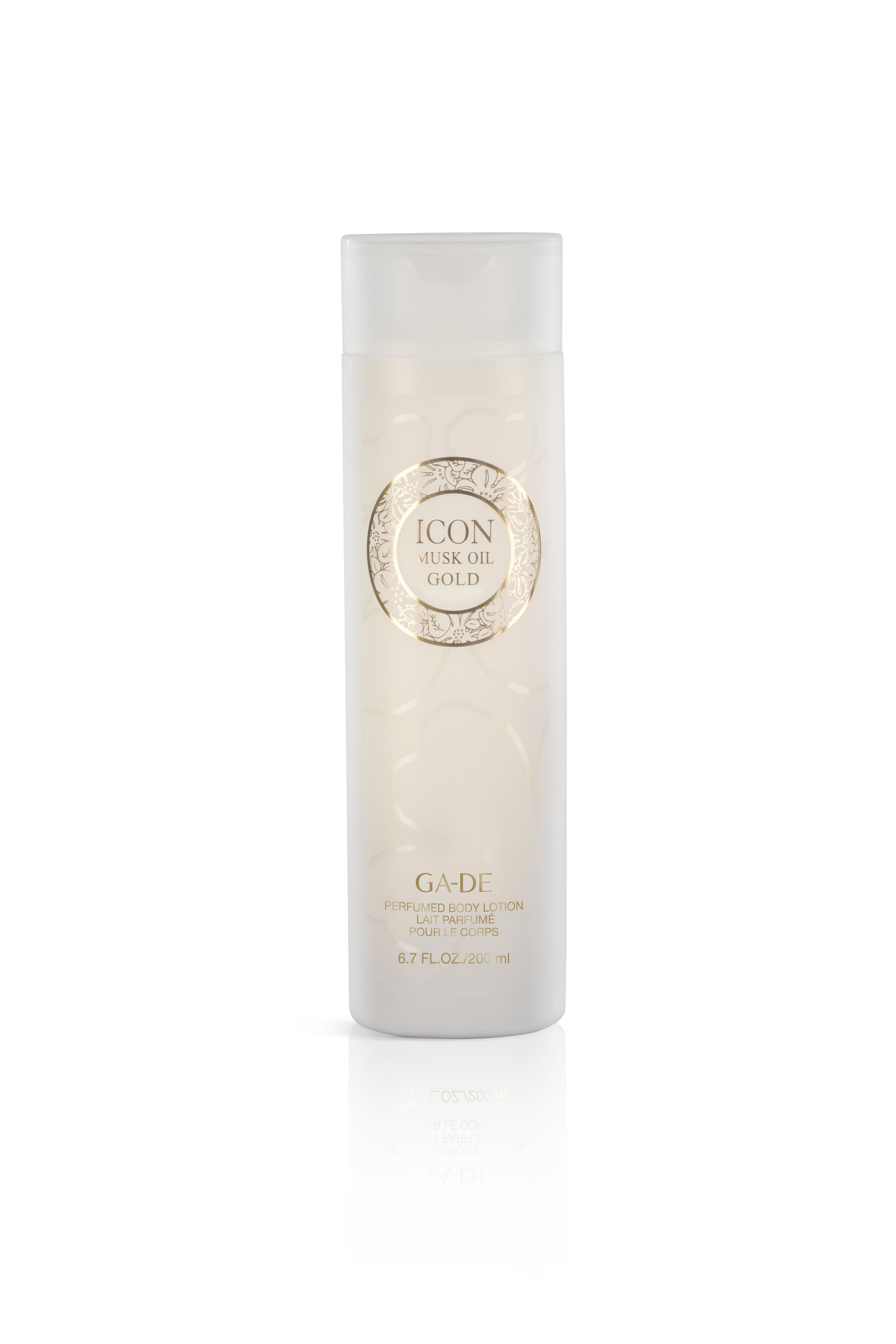 Парфюмированный крем для тела - Icon Gold Musk Oil